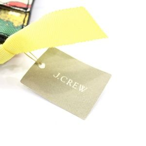 J. Crew Bags - J.CREW POSTCARD PRINT SMALL LEATHER POUCH NWT